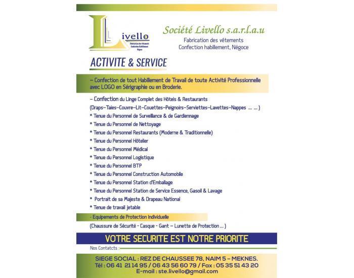 Société Livello s.a.r.l