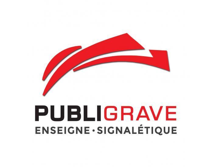PUBLIGRAVE - Enseigne publicitaire
